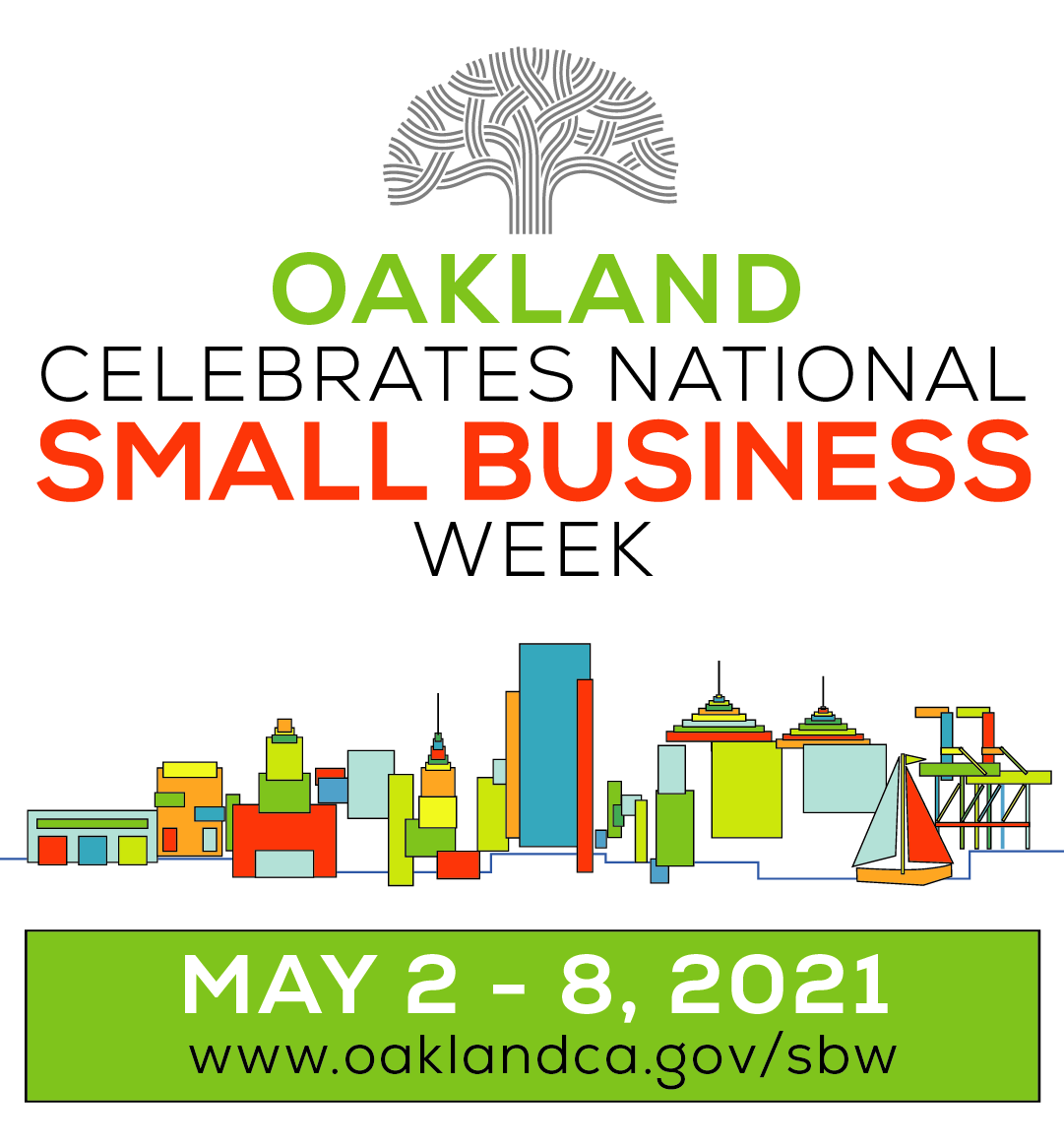 logo for 2021 Small Business Week