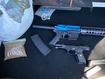 Two Firearms Recovered