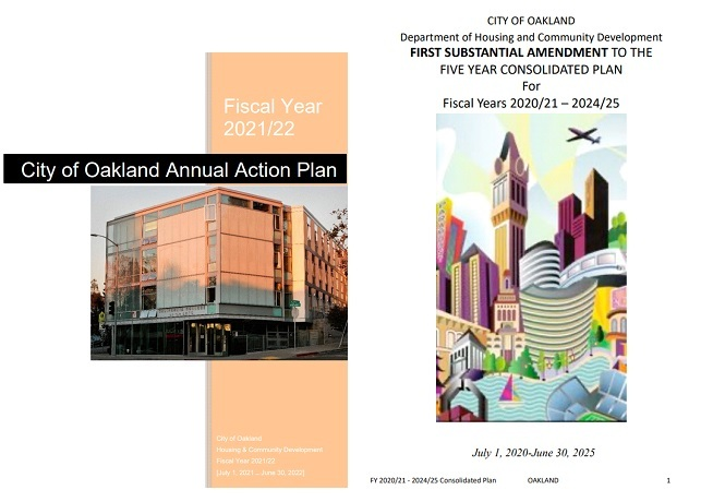 City of Oakland's 2021/22 Annual Action Plan