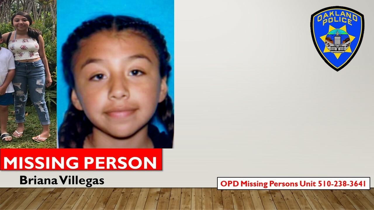 Missing Person Briana Villegas