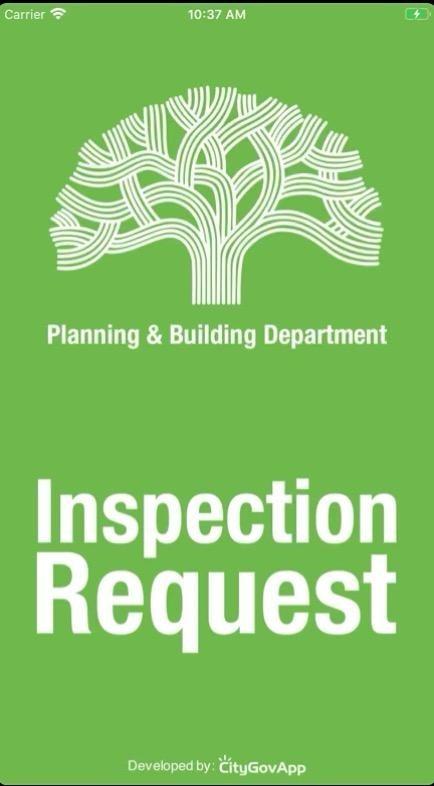 Inspection Request App image