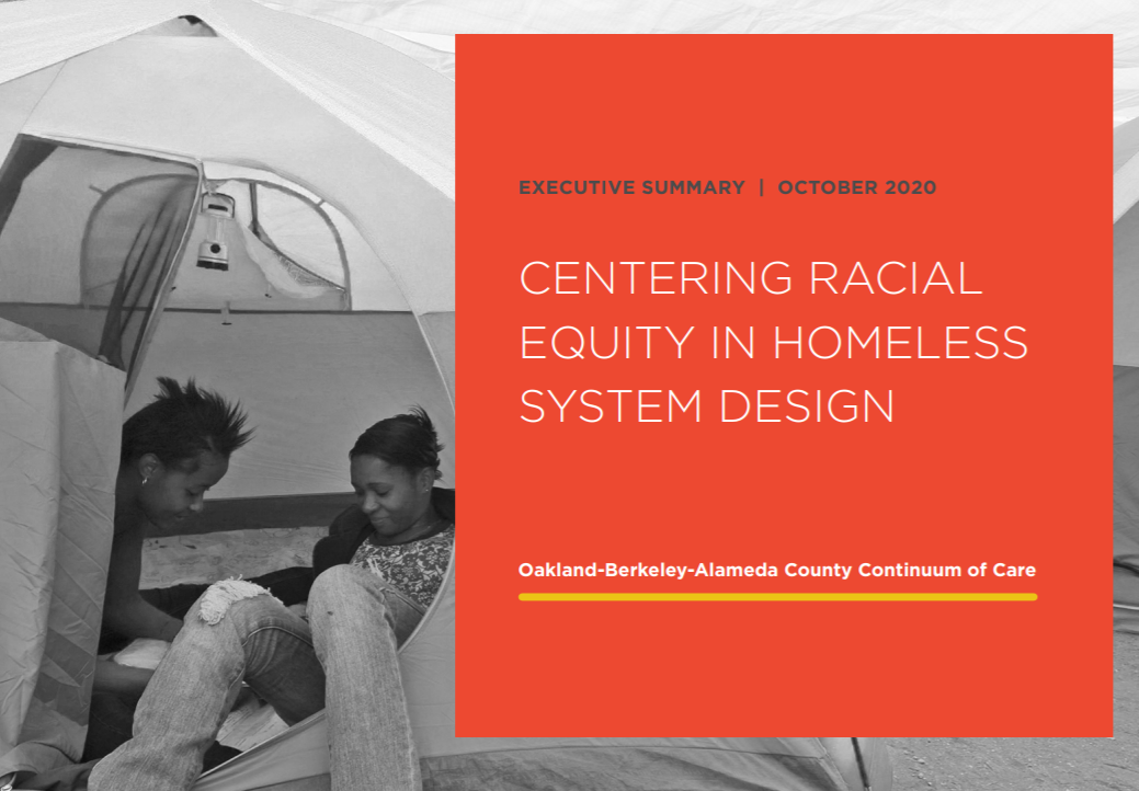 Centering Racial Equity in Homeless System Design
