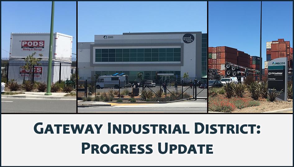 Gateway Industrial District photo montage