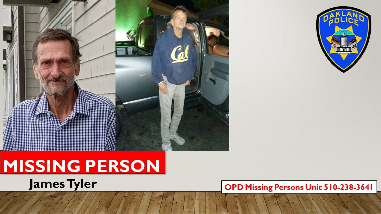 MISSING PERSON Jame Tyler