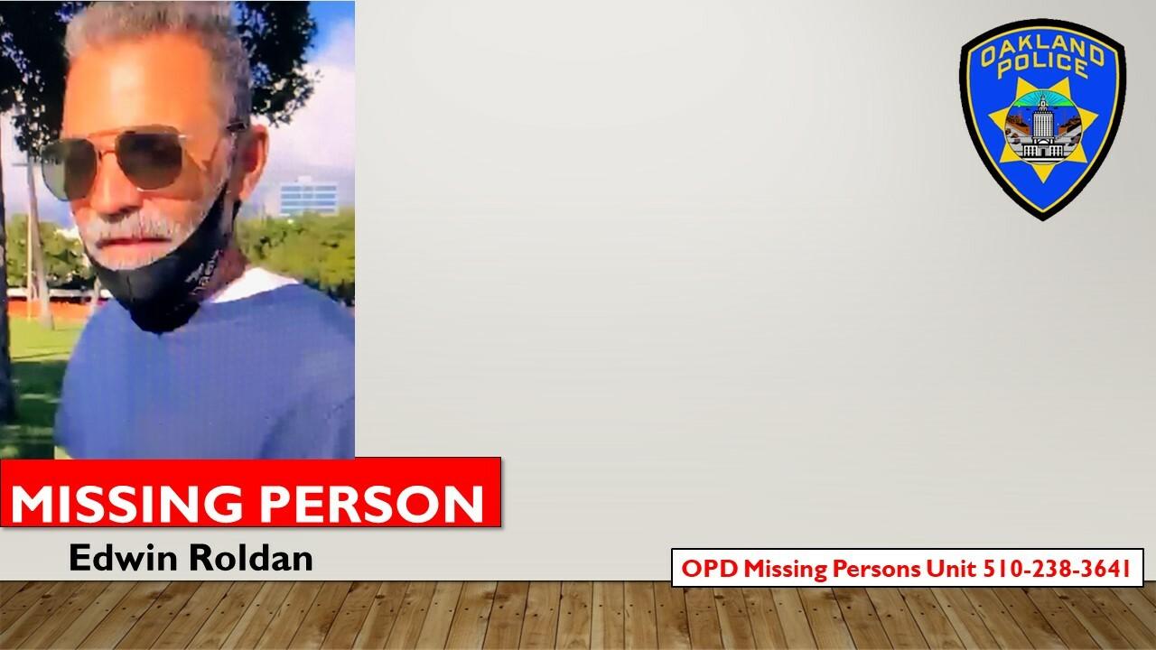 Missing Person Edwin Roldan