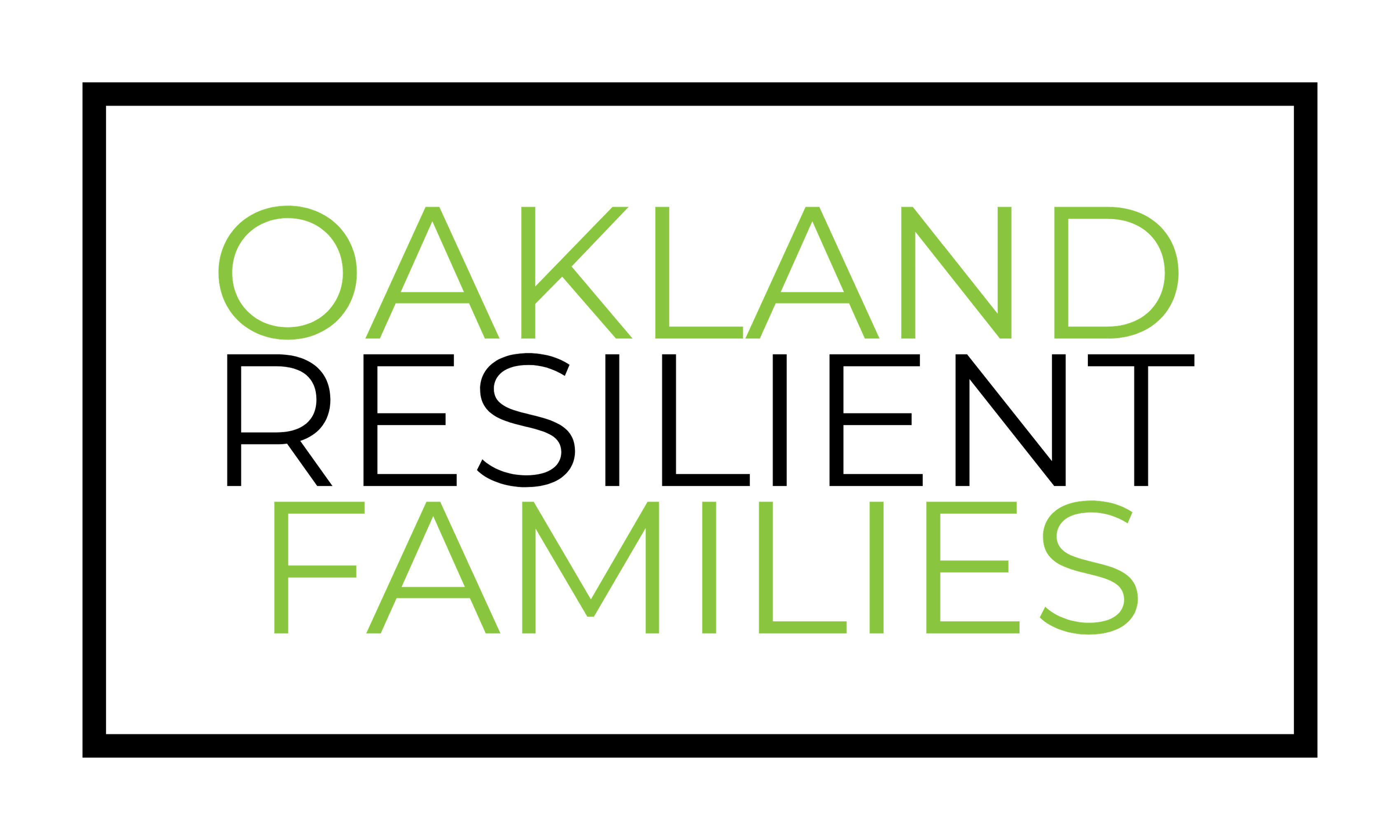 Reads Oakland Resilient Families