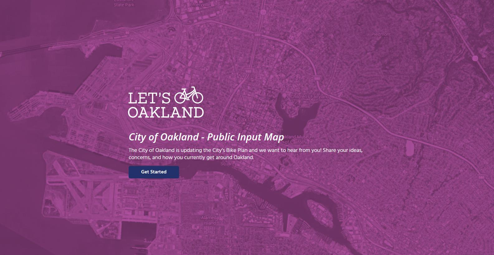 Oakland Input Map 2