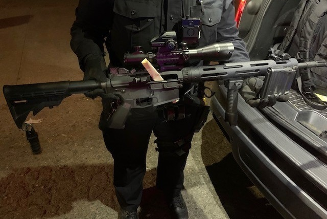 Recovered High-Powered Rifle