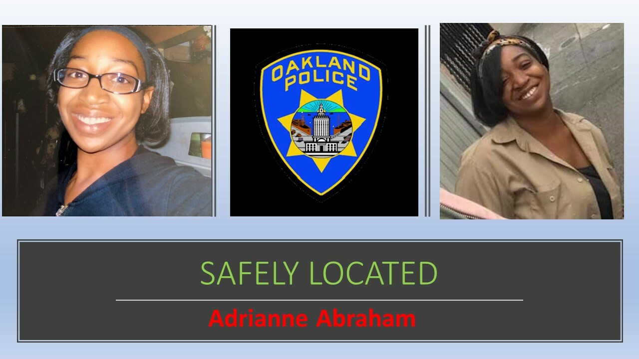 Safely Located Adrianne ABRAHAM