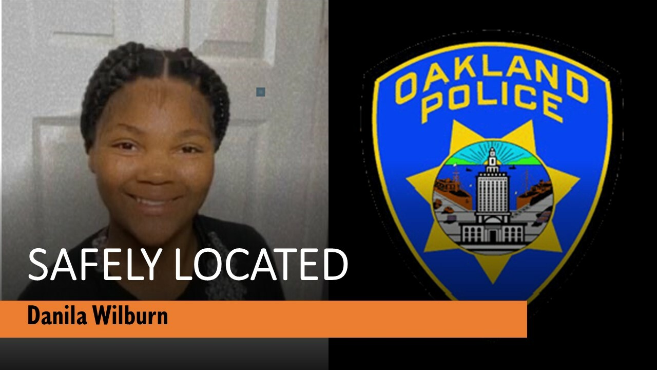 Photo of Danila Wilburn who has been safely located.