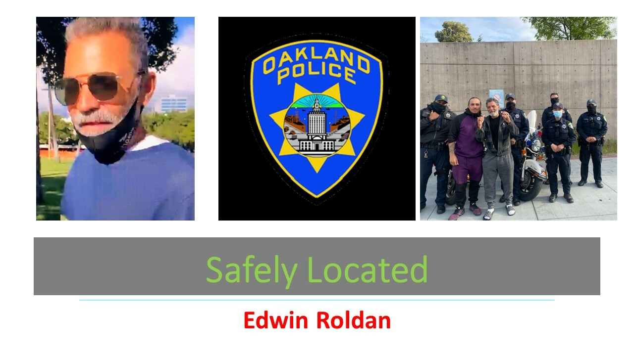 Safely Located Edwin Roldan
