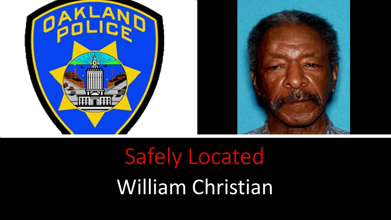 Safely Located Missing William Christian