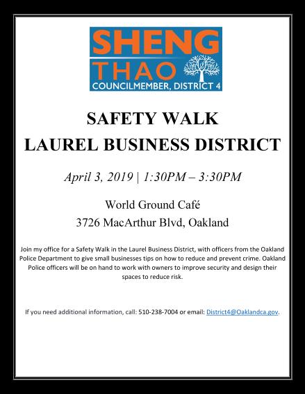 Safety Walk Flyer 4 3 2019 1