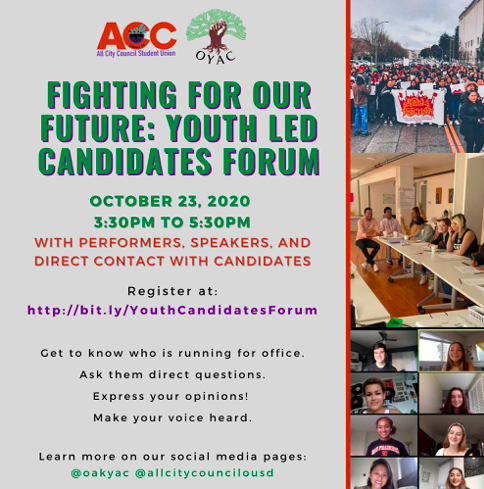 Fighting for Our Future: Youth Led Candidates Forum