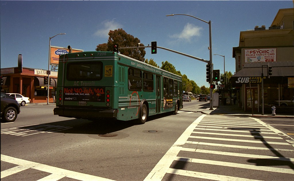 Photo of AC Transit bus
