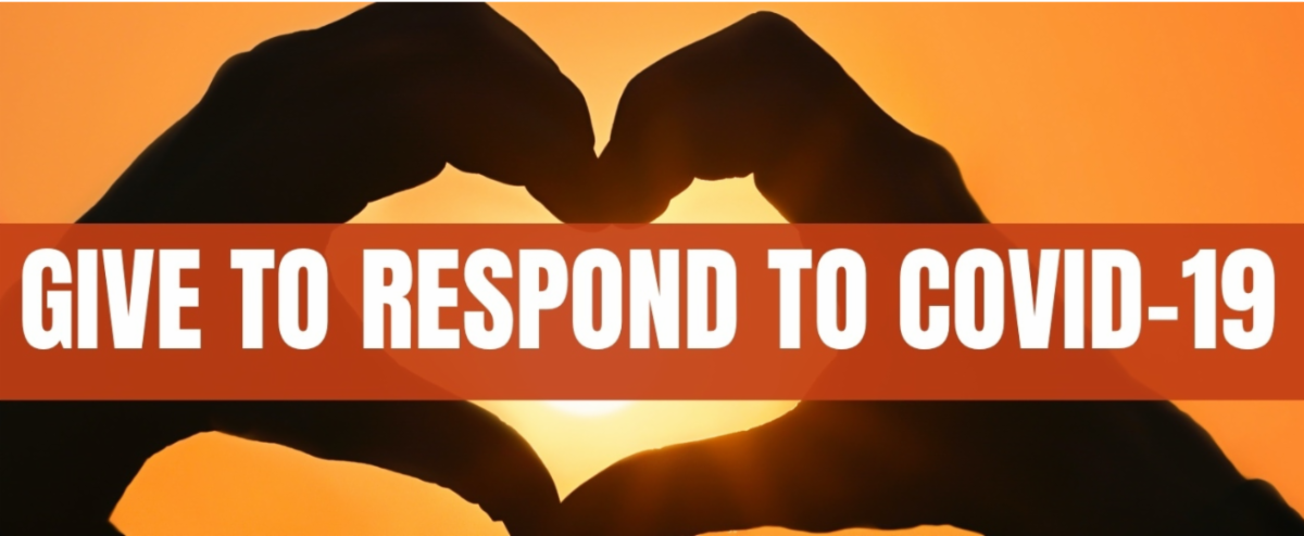 Give to respond to COVID-19 banner