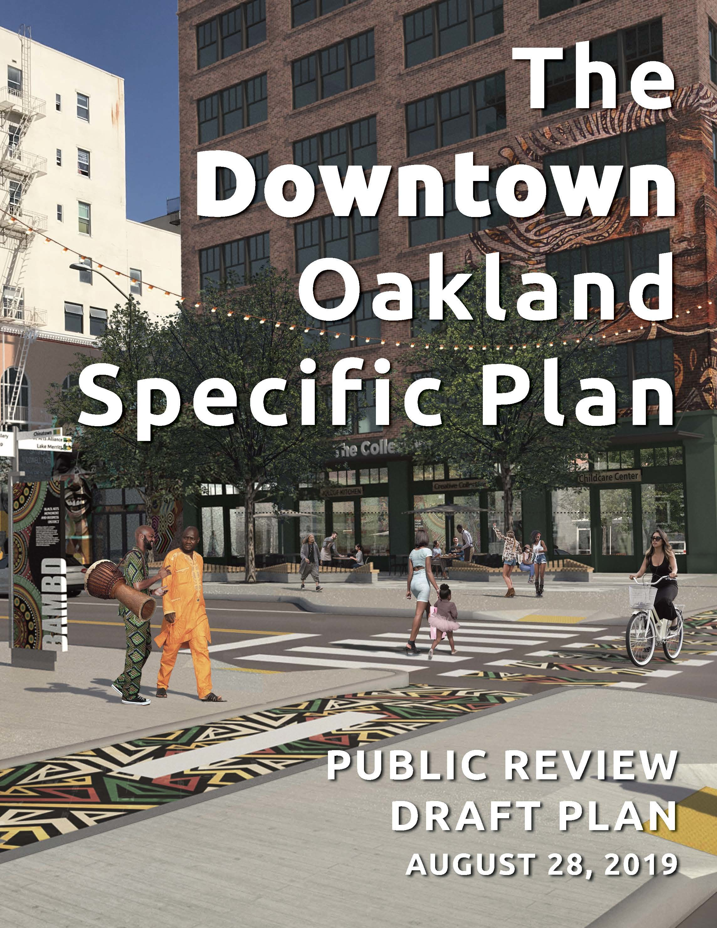 Draft Downtown Oakland Specific Plan cover