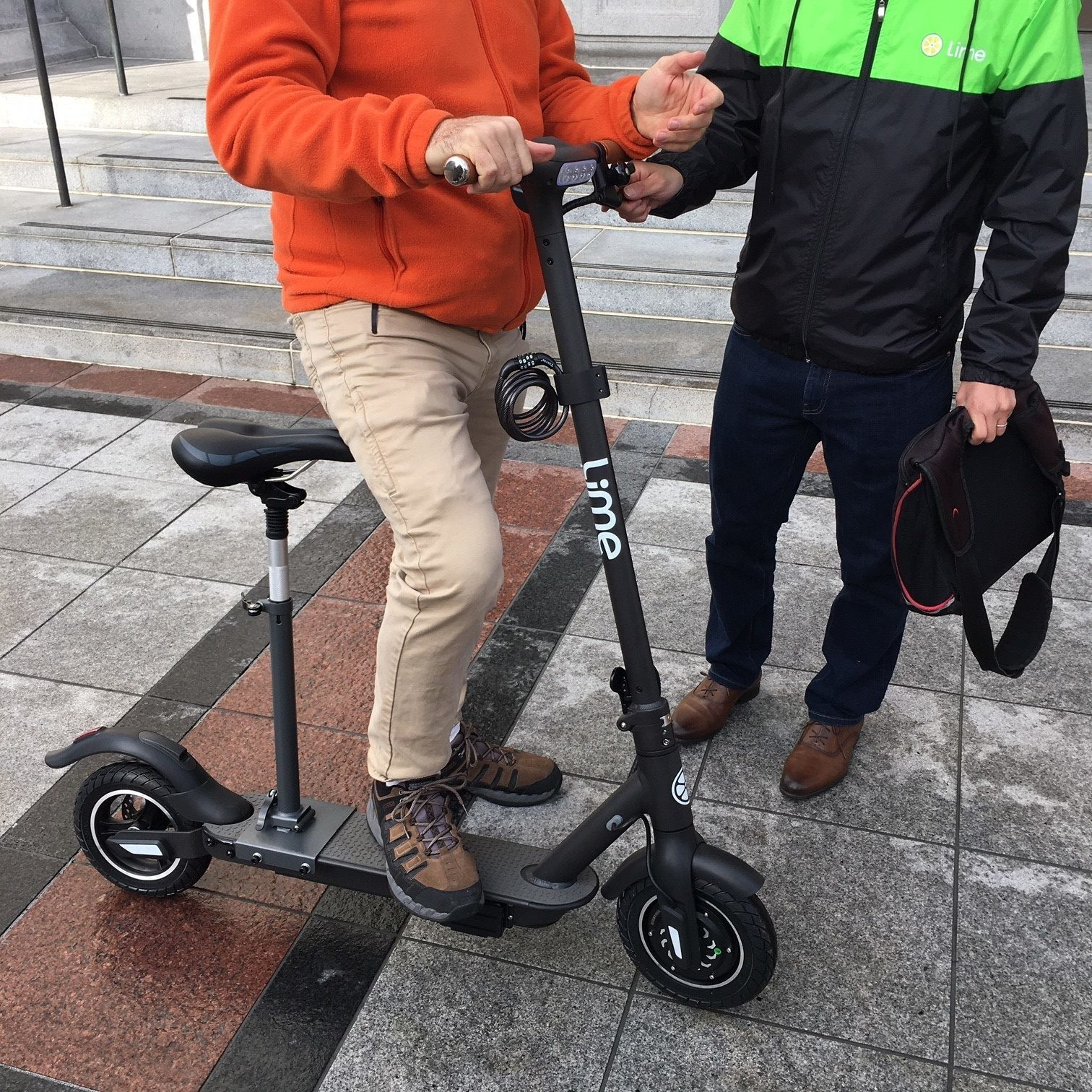 Lime's new adaptive e-scooter