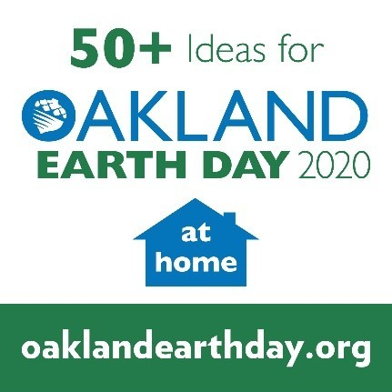 Oakland Earth Day 2020 Logo