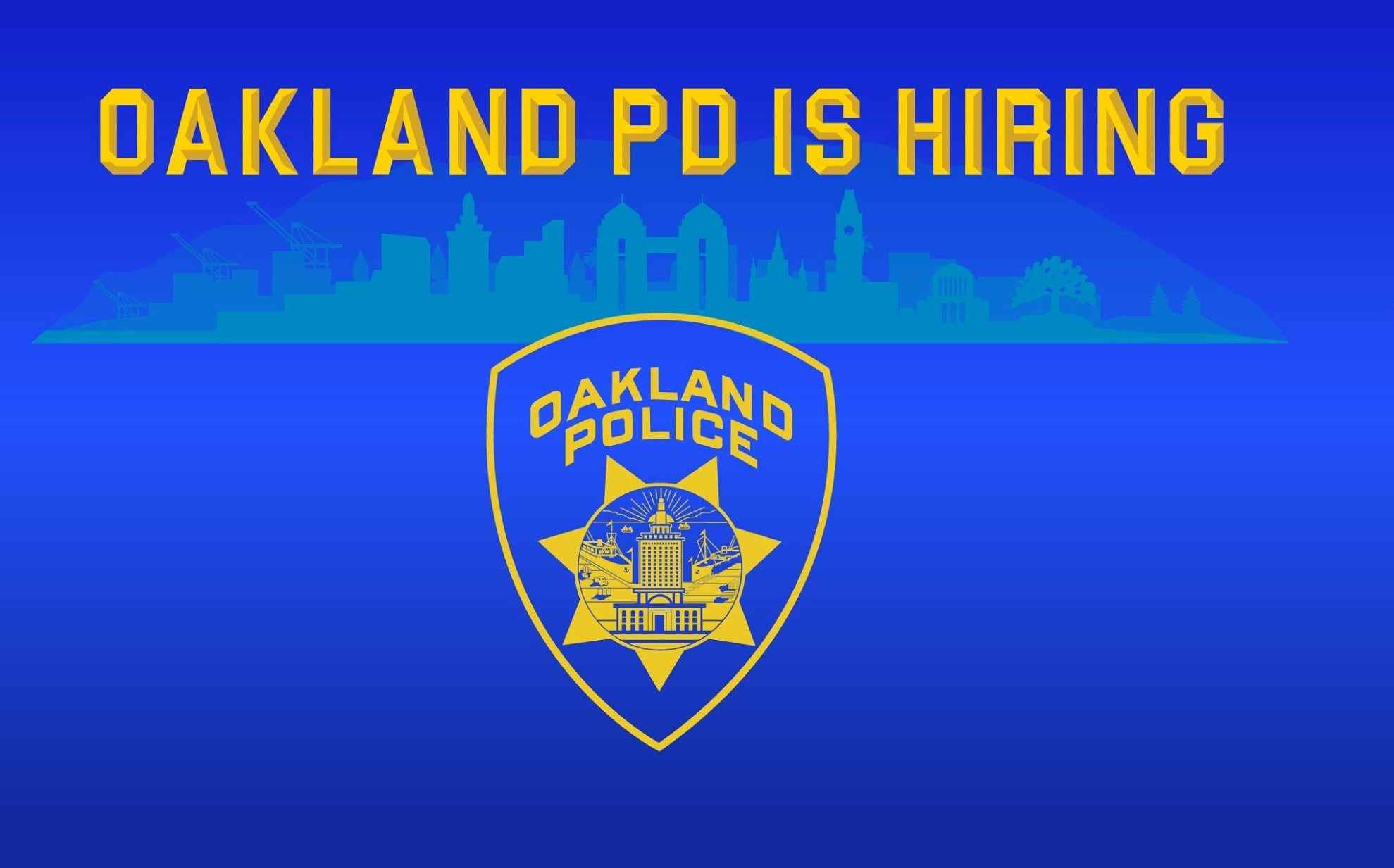 OPD is hiring.