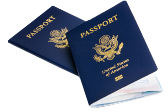 Stock image of US Passports