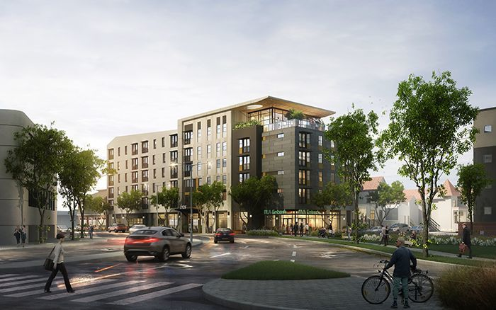 Photo of planned New Affordable Housing Unit proposed for Oakland, CA.