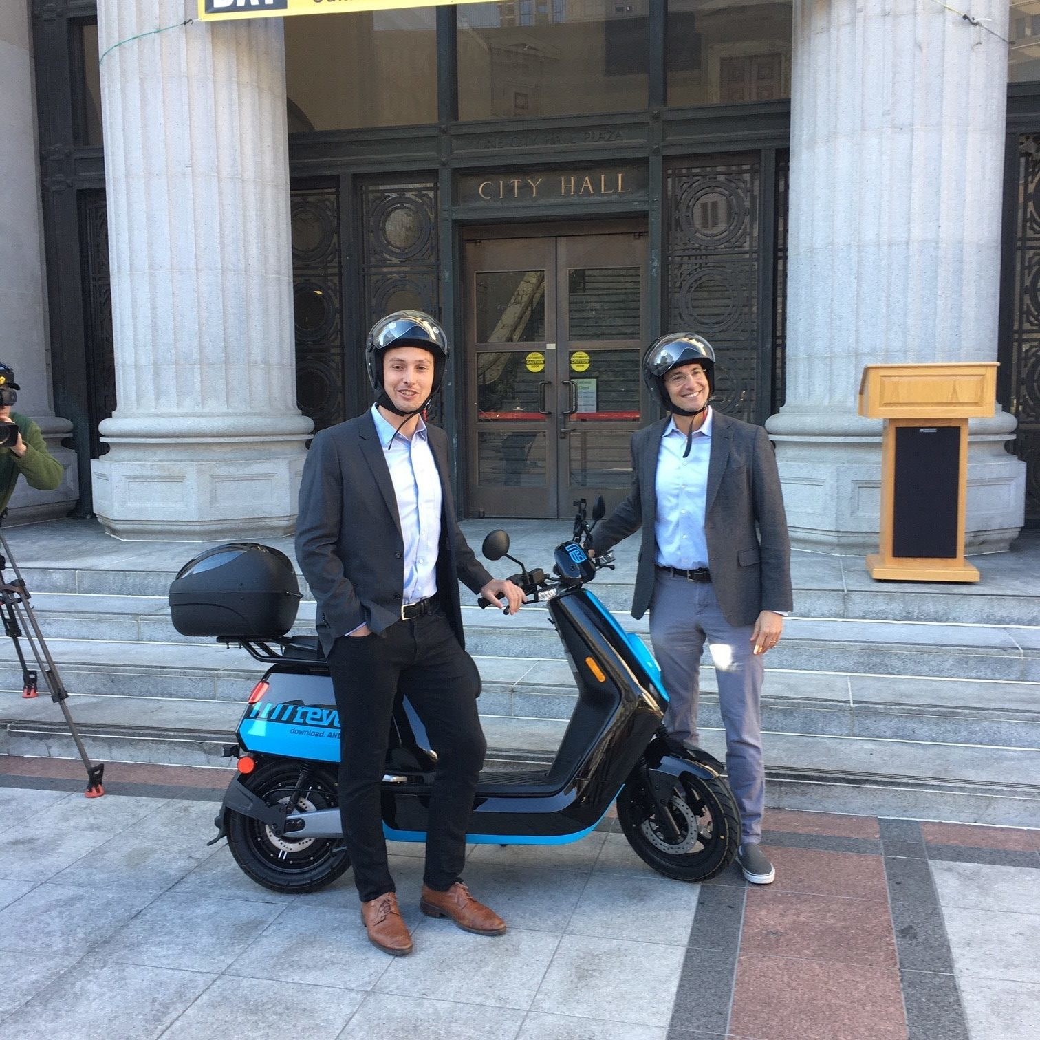 OakDOT and Revel rollout Oakland's first shared e-moped service