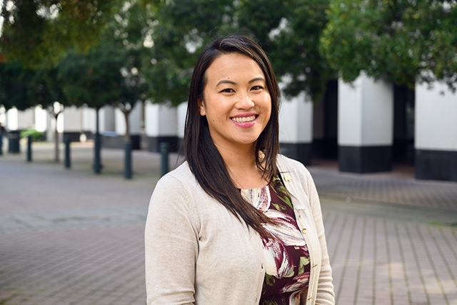 Portrait of Councilmember Sheng Thao, District 4 in Oakland.