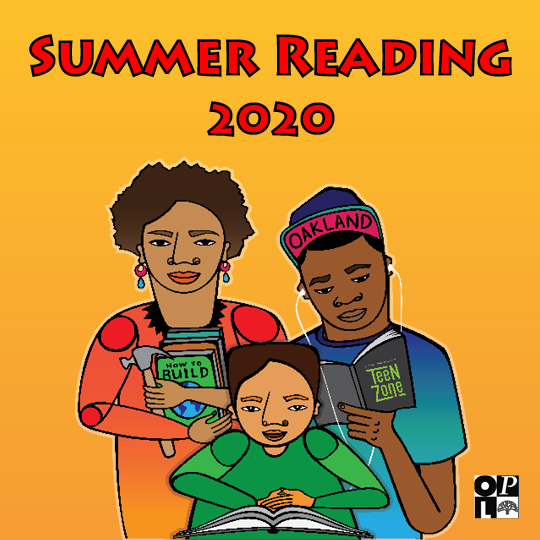 "Text that reads ""Summer Reading 2020""."