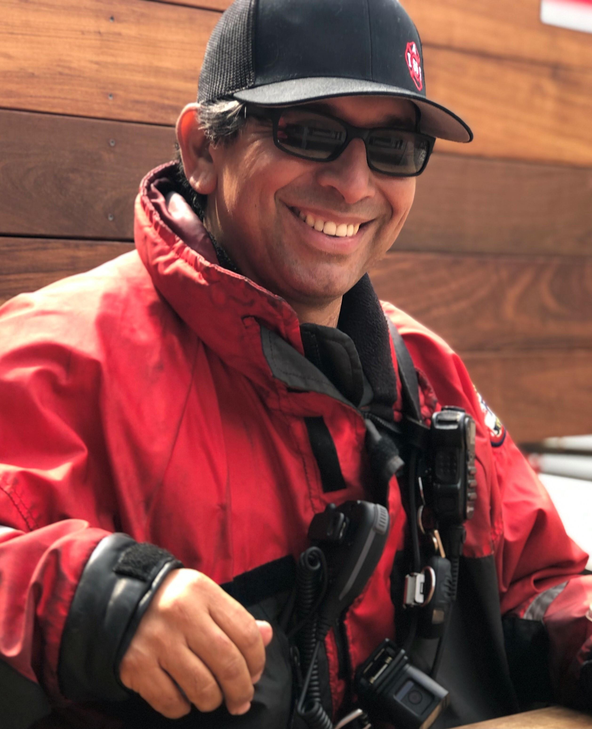 Portrait of Salvador Garcia