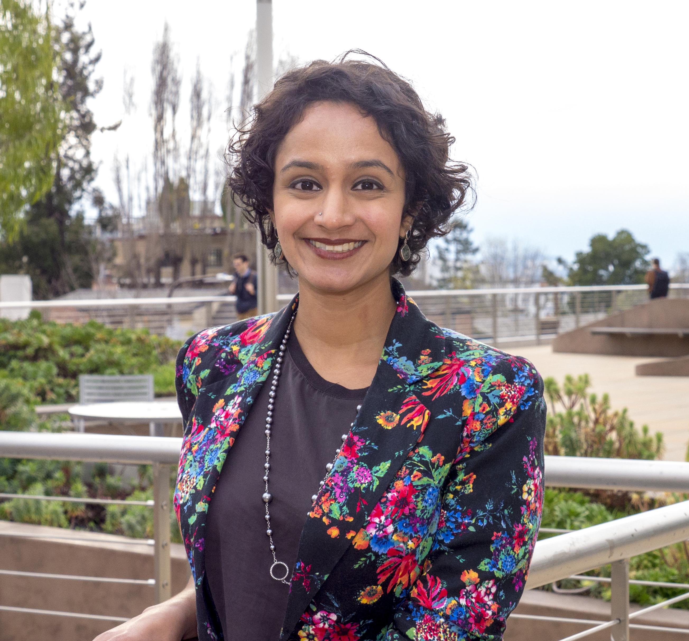 Portrait of Janani Ramachandran