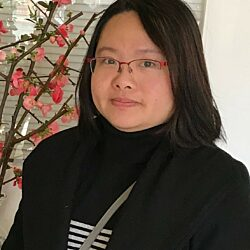 Portrait of Chinatown Liaison & Aide, Linna Lin