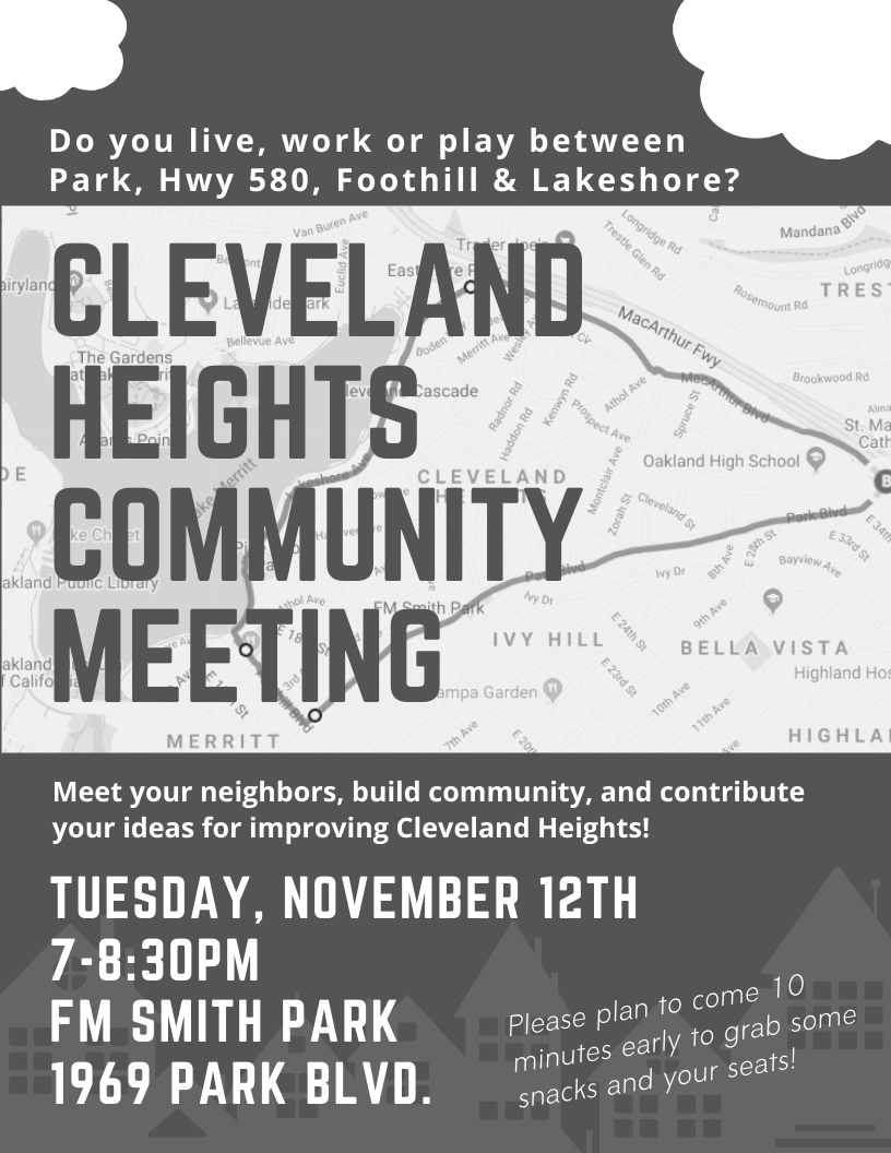 Friends of Cleveland Heights Neighborhood Council Meeting