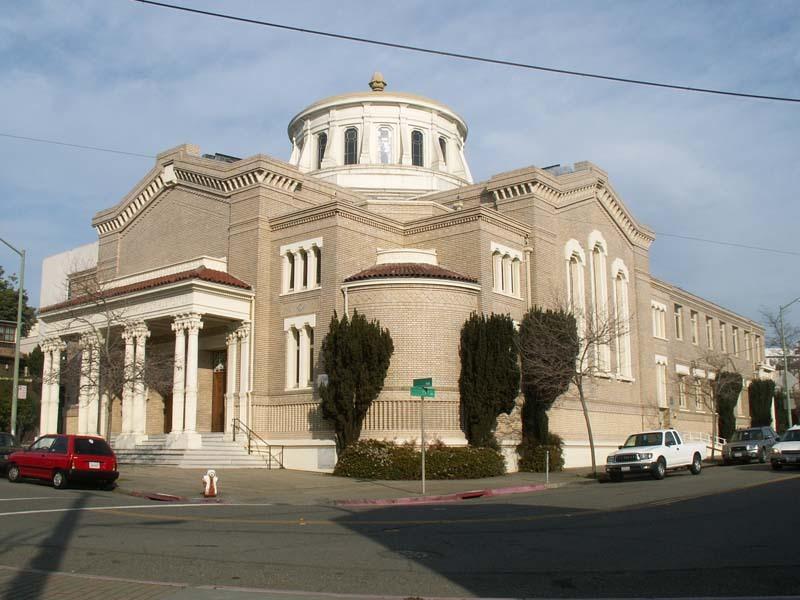 Oakland Designated Landmark 118: Temple Sinai (Image A) Image