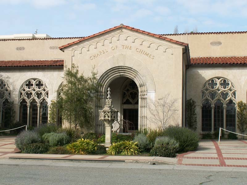 Oakland Designated Landmark 129: Chapel of the Chimes (Image B) Image
