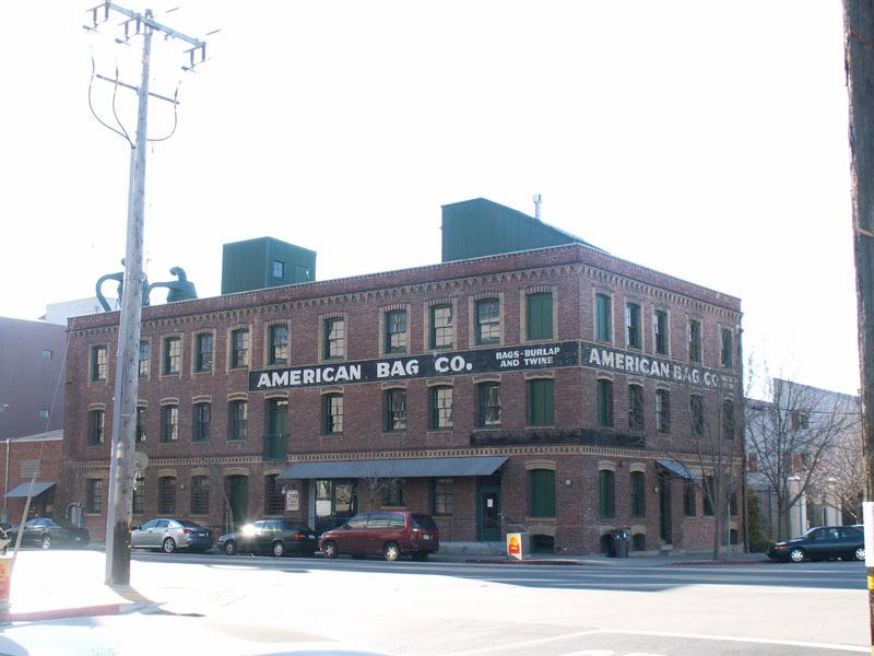 Oakland Designated Landmark 130: American Bag Company Union Hide Company (Image A) Image