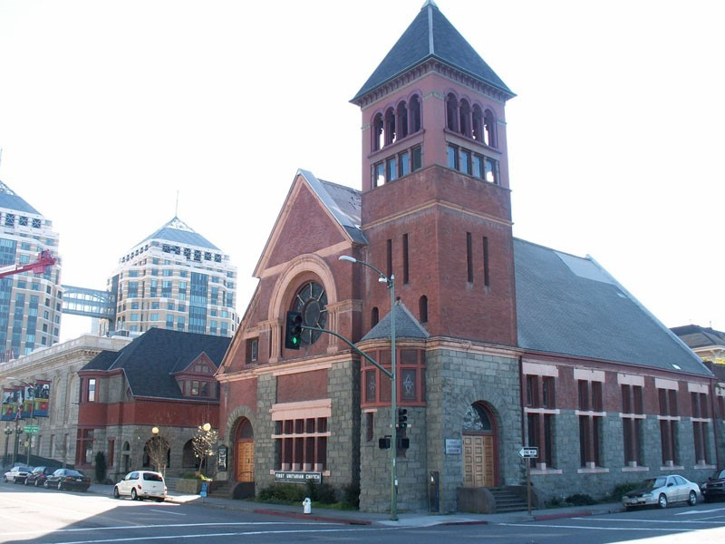 Oakland Designated Landmark 13: First Unitarian Church* (Image A) Image