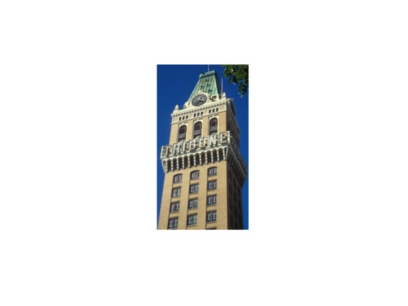 Oakland Designated Landmark 15: Tribune Tower (Image A) Image