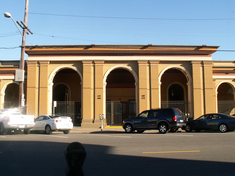 Oakland Designated Landmark 1: Western Pacific Depot (Image A) Image