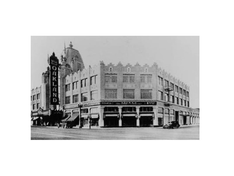 Oakland Designated Landmark 23: Fox Oakland Theater and Building* (Image A) Image