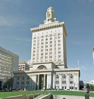 Landmark 28 B Oakland City Hall