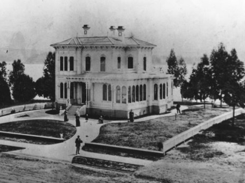 Oakland Designated Landmark 2: Camron-Stanford House* (Image A) Image