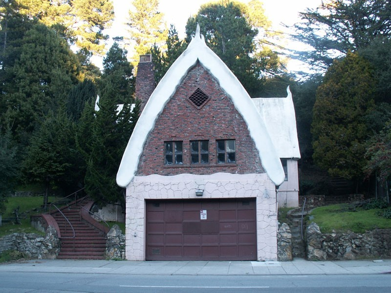Oakland Designated Landmark 34: Montclair Fire House (Image A) Image