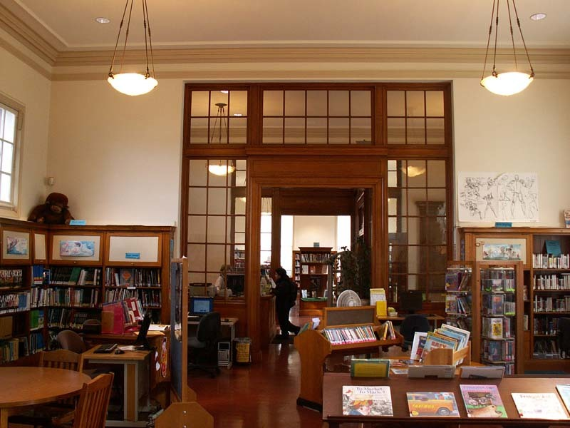 Landmark 43 A 1 Carnegie Libraries Golden Gate Branch
