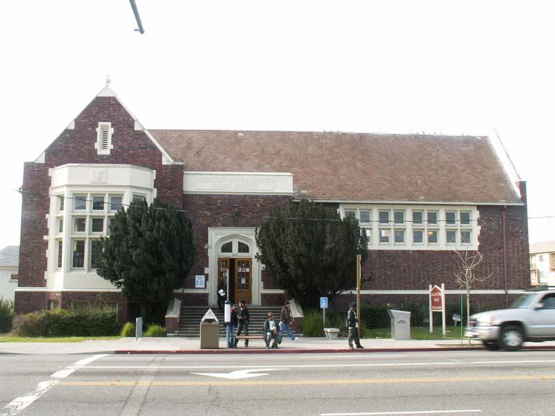 Oakland Designated Landmark 43: Temescal Branch (Image C.1) Image