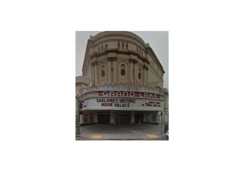 Oakland Designated Landmark 52: Grand Lake Theater and Roof Sign (Image A) Image