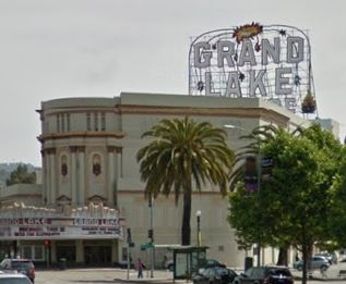 Landmark 52 B Grand Lake Theater and Roof Sign