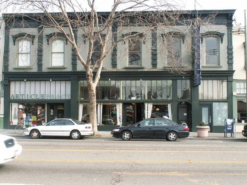 Oakland Designated Landmark 75: Cattaneo Block Buon Gusto Bakery (Image A) Image