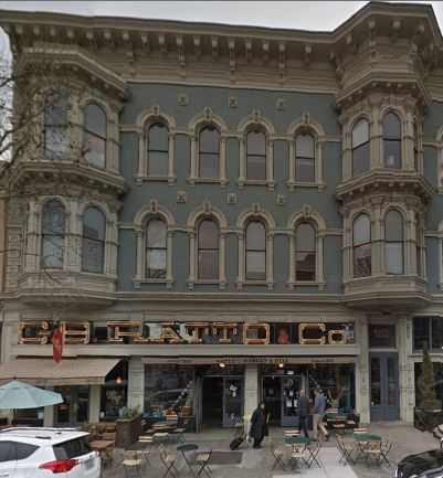 Oakland Designated Landmark 78: Gooch Block (Ratto's International Grocery)(Image A) Image
