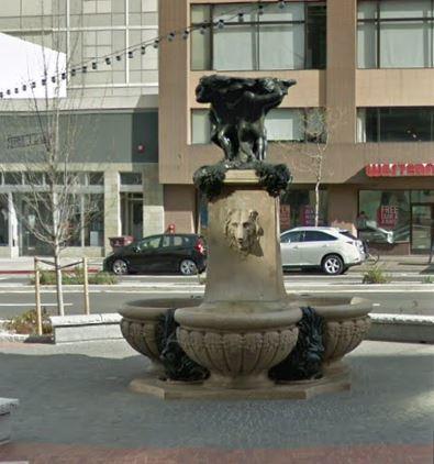 Oakland Designated Landmark 86: Latham Square Fountain (Image A) Image